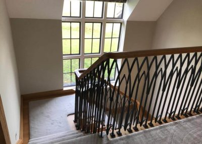 Hall and staircase redecoration