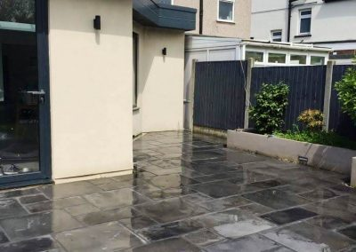 Patio laid and pointed